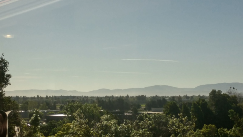 Strange Straight Chem-lines Over South Pleasanton