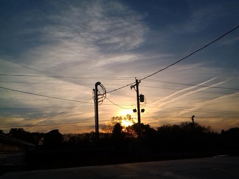 Chemtrail skies
